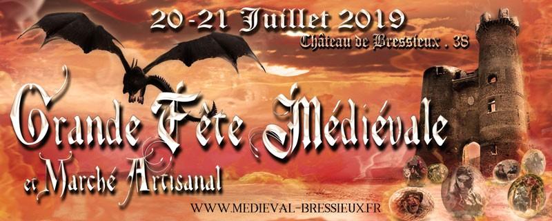 Venez voir la 7° édition de la médiévale de Bressieux !